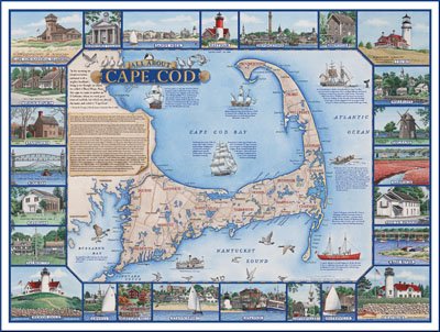 ALL ABOUT CAPE COD Map